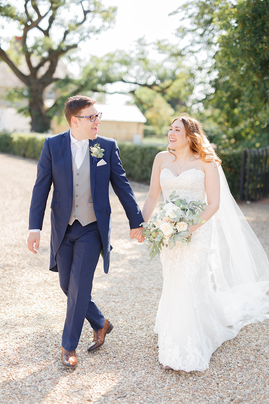 Real Wedding - Lucy and Matt's Elegant Summer Wedding at Bassmead Manor Barns
