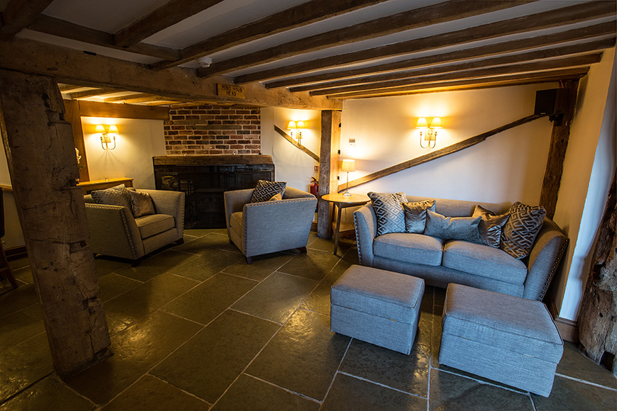 Exciting New Features At Curradine Barns - New lounge | CHWV