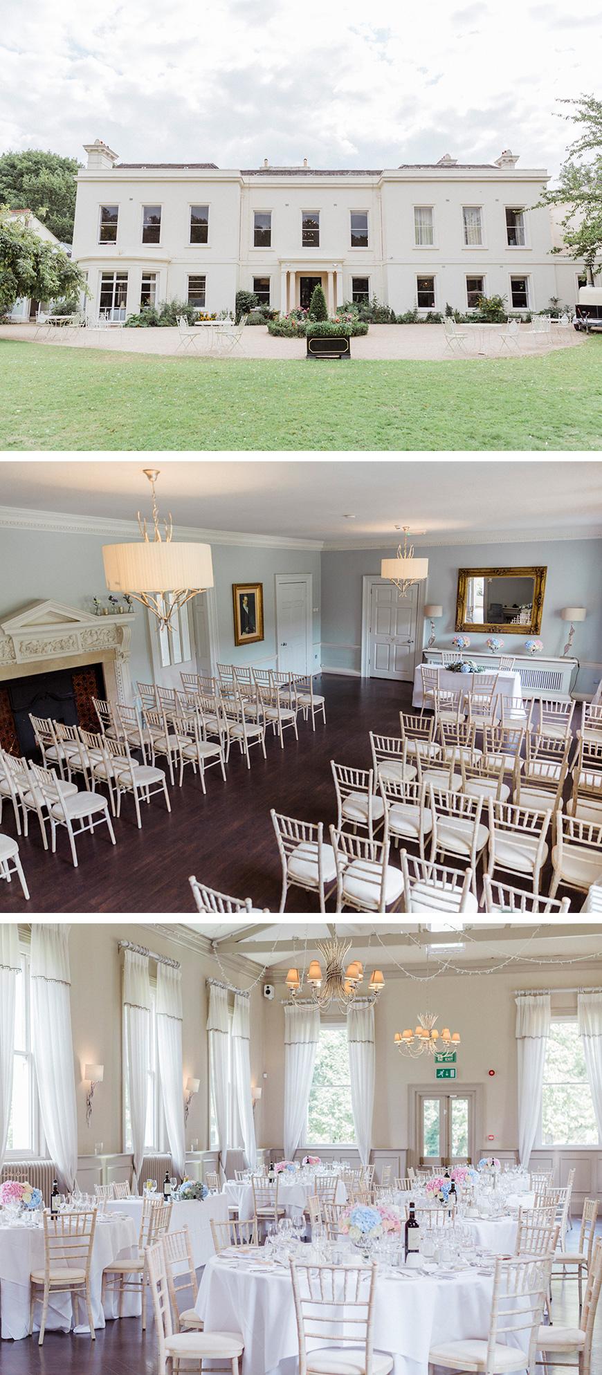 Real Wedding - Maggie and Deborah's Pretty Pastel Wedding At Morden Hall   CHWV