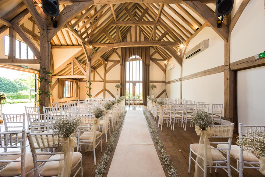 6 Magical Barn Wedding Venues In Hampshire - Cain Manor | CHWV