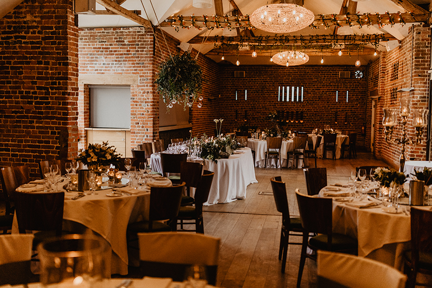 6 Magical Barn Wedding Venues In Hampshire - Wasing Park | CHWV