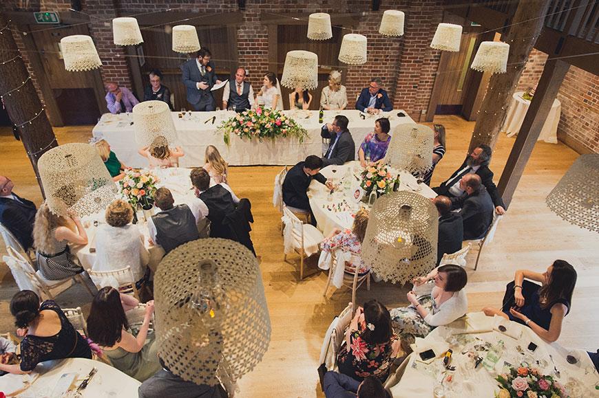 Maria and Chris' real life wedding at Gaynes Park - The Mill Barn | CHWV