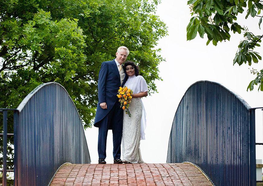 Lynn and Mark's Bright and Beautiful Yellow Wedding - Outfits | CHWV
