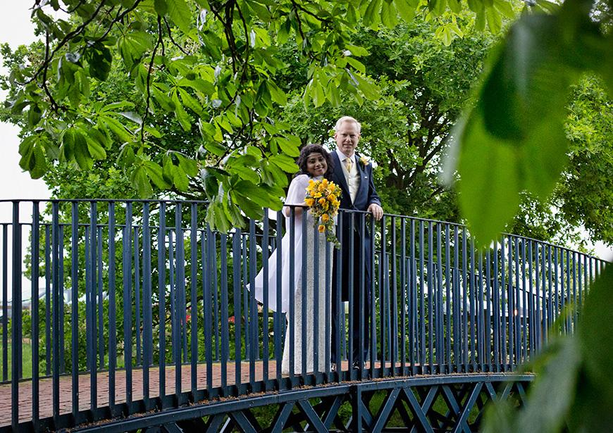 Lynn and Mark's Bright and Beautiful Yellow Wedding - Bridge | CHWV