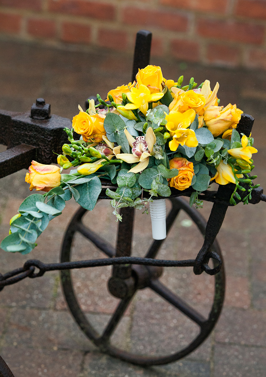 Lynn and Mark's Bright and Beautiful Yellow Wedding - Flowers | CHWV