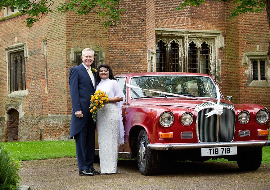 Lynn and Mark's Bright and Beautiful Yellow Wedding - Wedding transport | CHWV