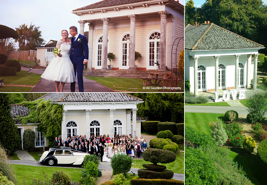 Marvellous Marquee Wedding Venues - Fontwell Park | CHWV