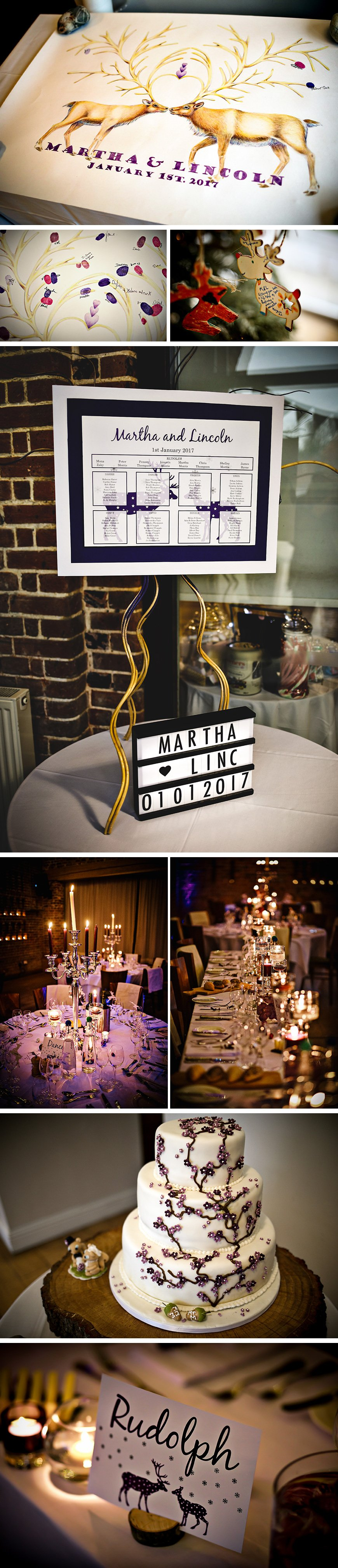 Mattie And Lincoln's Magical Winter Wedding At Wasing Park   CHWV