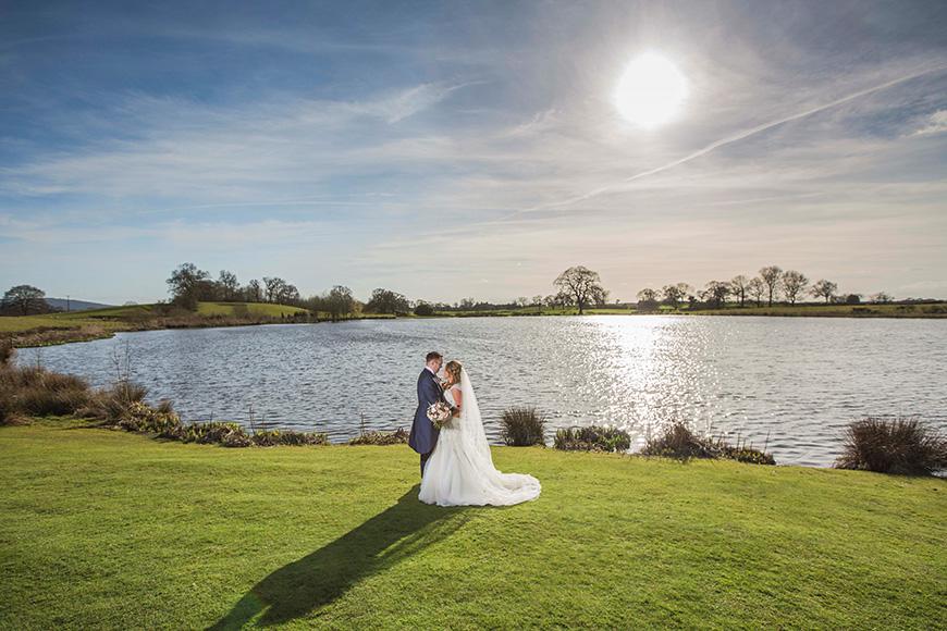 Micaela and Garry's Lively Wedding at Sandhole Oak Barn - Lake | CHWV