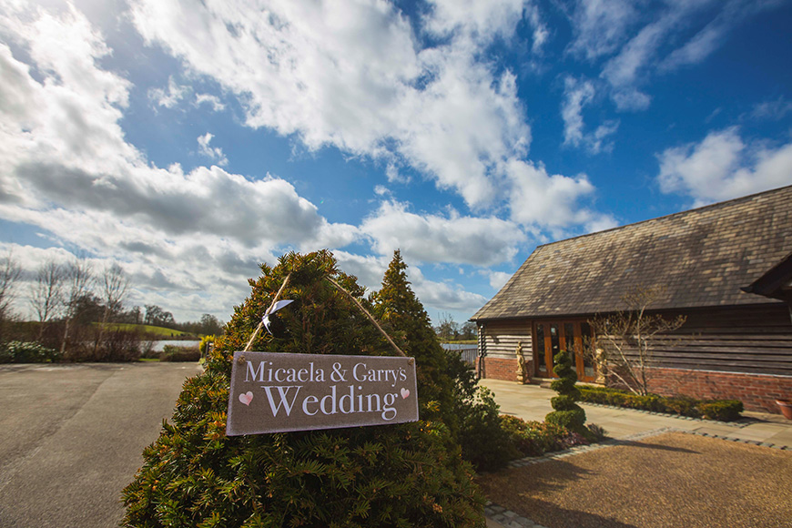 Micaela and Garry's Lively Wedding at Sandhole Oak Barn | CHWV