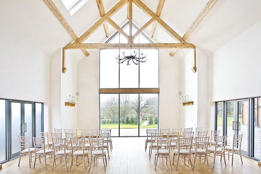 8 Magical Minimalist Wedding Venues - Millbridge Court | CHWV