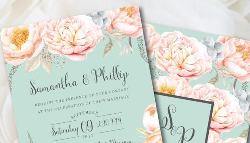 Neo Mint Green Wedding Ideas - Stationery | CHWV