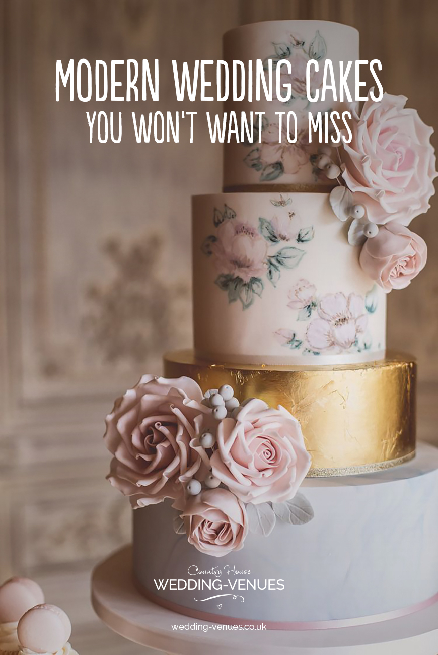Modern Wedding Cakes You Won't Want To Miss | CHWV
