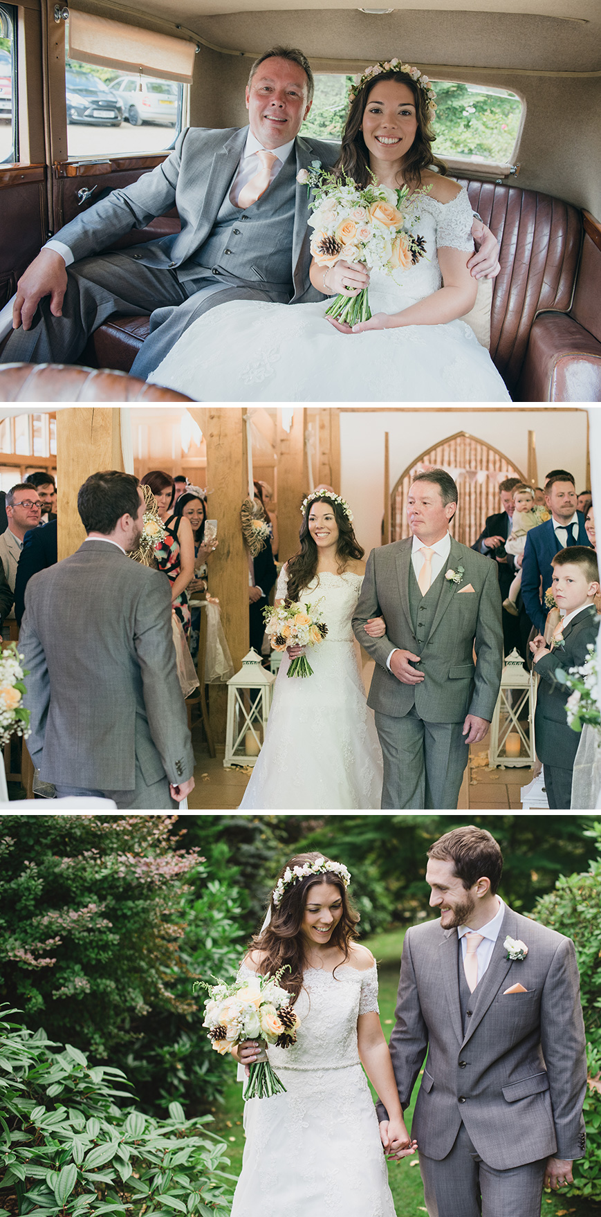 Real Wedding - Natalie and Tony's Vintage Country Wedding At Rivervale Barn | CHWV
