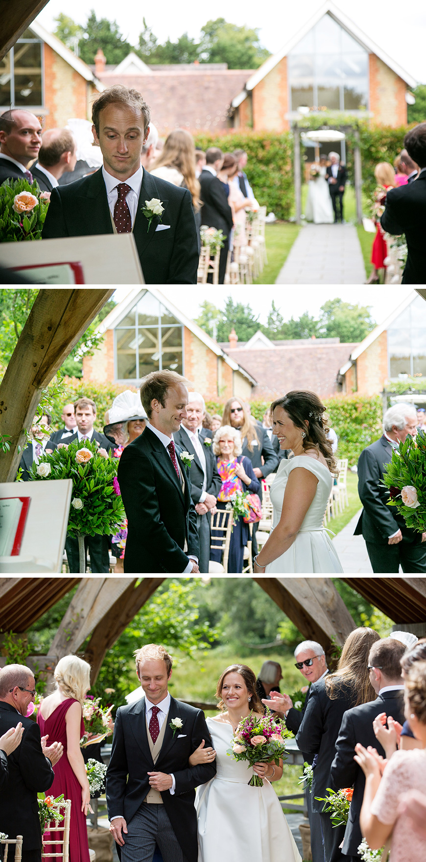 Real Wedding - Nava and Nicholas's Outdoor Summer Wedding at Millbridge Court | CHWV