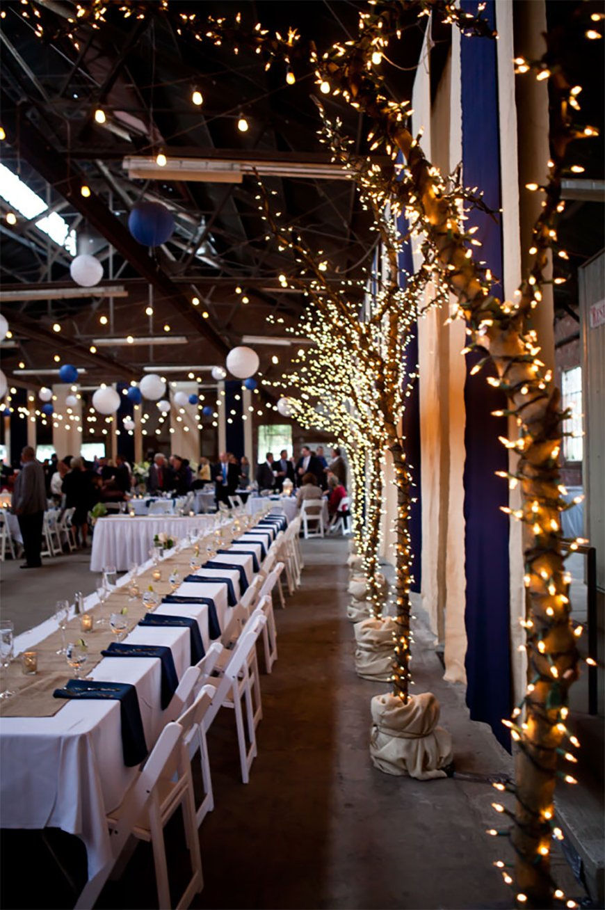 Navy Blue And Gold Decorations  from www.wedding-venues.co.uk