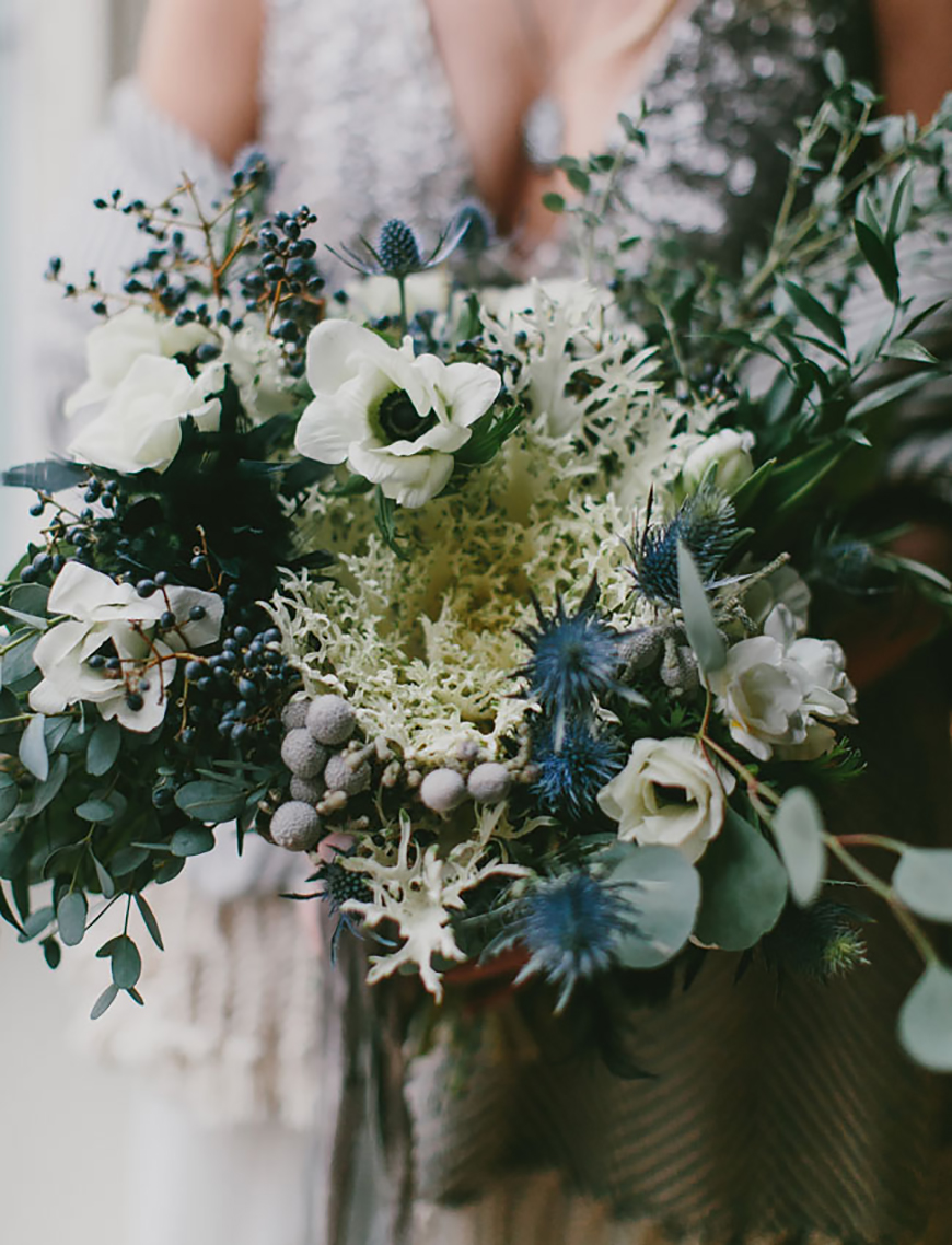 Wedding Ideas By Colour: Navy Wedding Decorations - Décor Details | CHWV