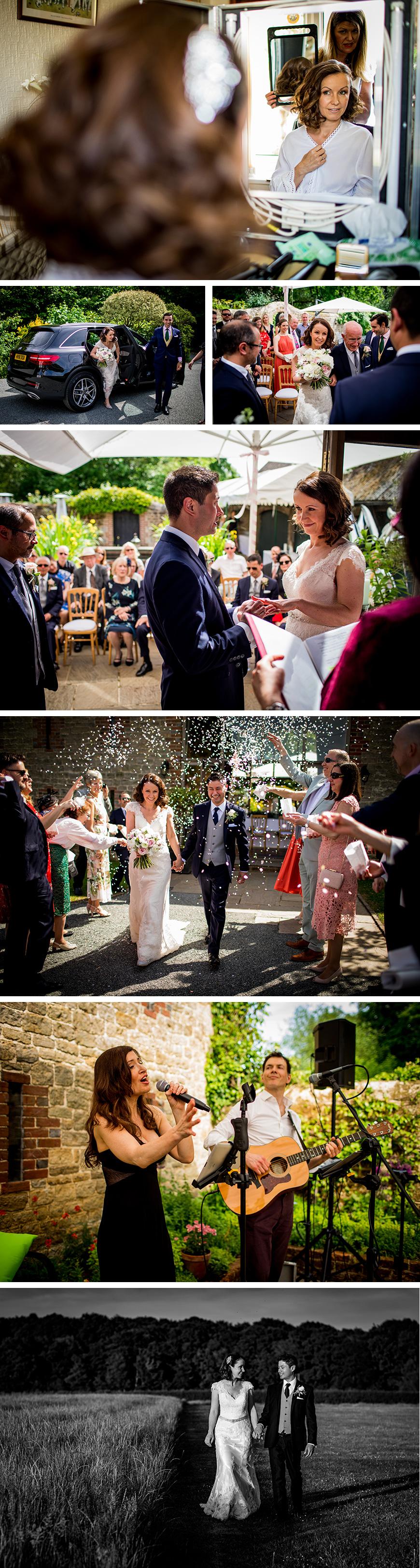 Real Wedding - Nicky and Alex's Intimate Summer Wedding At Bartholomew Barn | CHWV