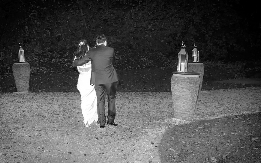 Nicola and Grant's real wedding at Wasing Park - Candles | CHWV