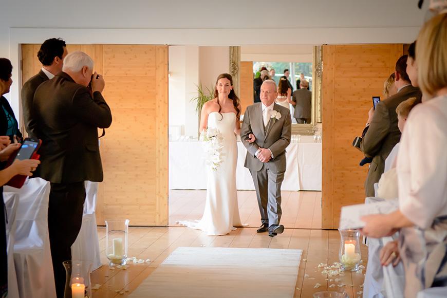 Nicola and Grant's real wedding at Wasing Park - Nicola's dress | CHWV
