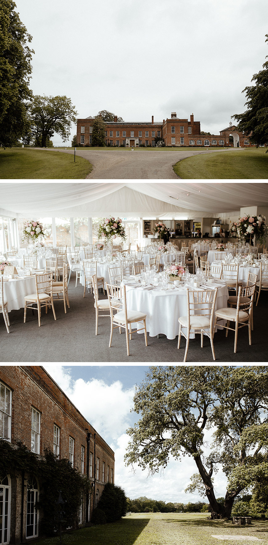 Real Wedding - Nina and Michael's Serene Summer Wedding at Braxted Park | CHWV