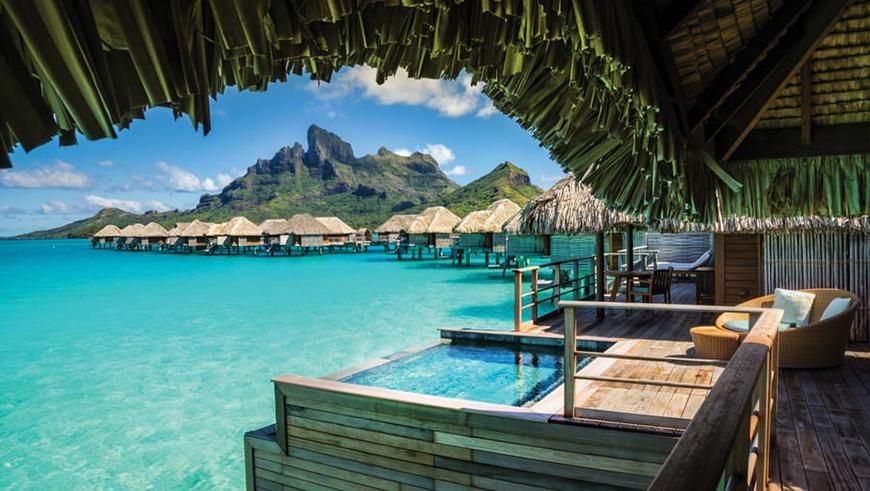 12 Once In A Lifetime Honeymoon Ideas - Bora Bora | CHWV