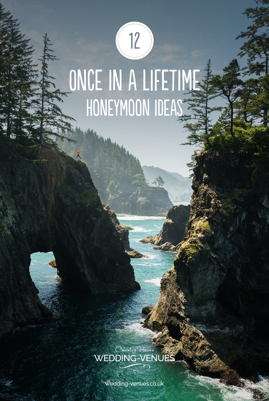 12 Once In A Lifetime Honeymoon Ideas | CHWV