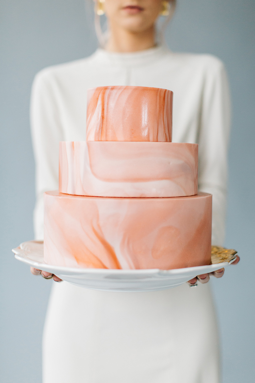 Wedding Ideas By Colour: Orange Wedding Theme - Cake | CHWV