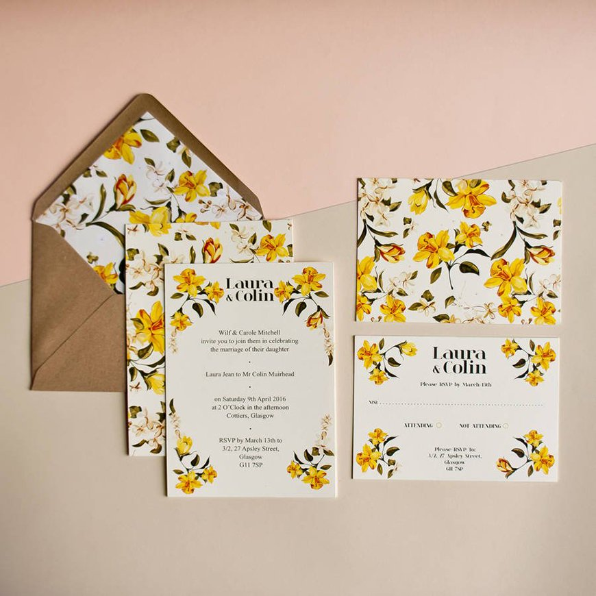 Wedding Ideas By Colour: Orange Wedding Theme - Stationery | CHWV