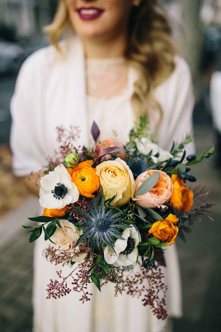 Wedding Ideas By Colour: Orange Wedding Theme - Flowers | CHWV