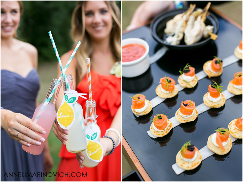 Cocktails and Canapes - Totally ingenious ideas for an outdoor wedding