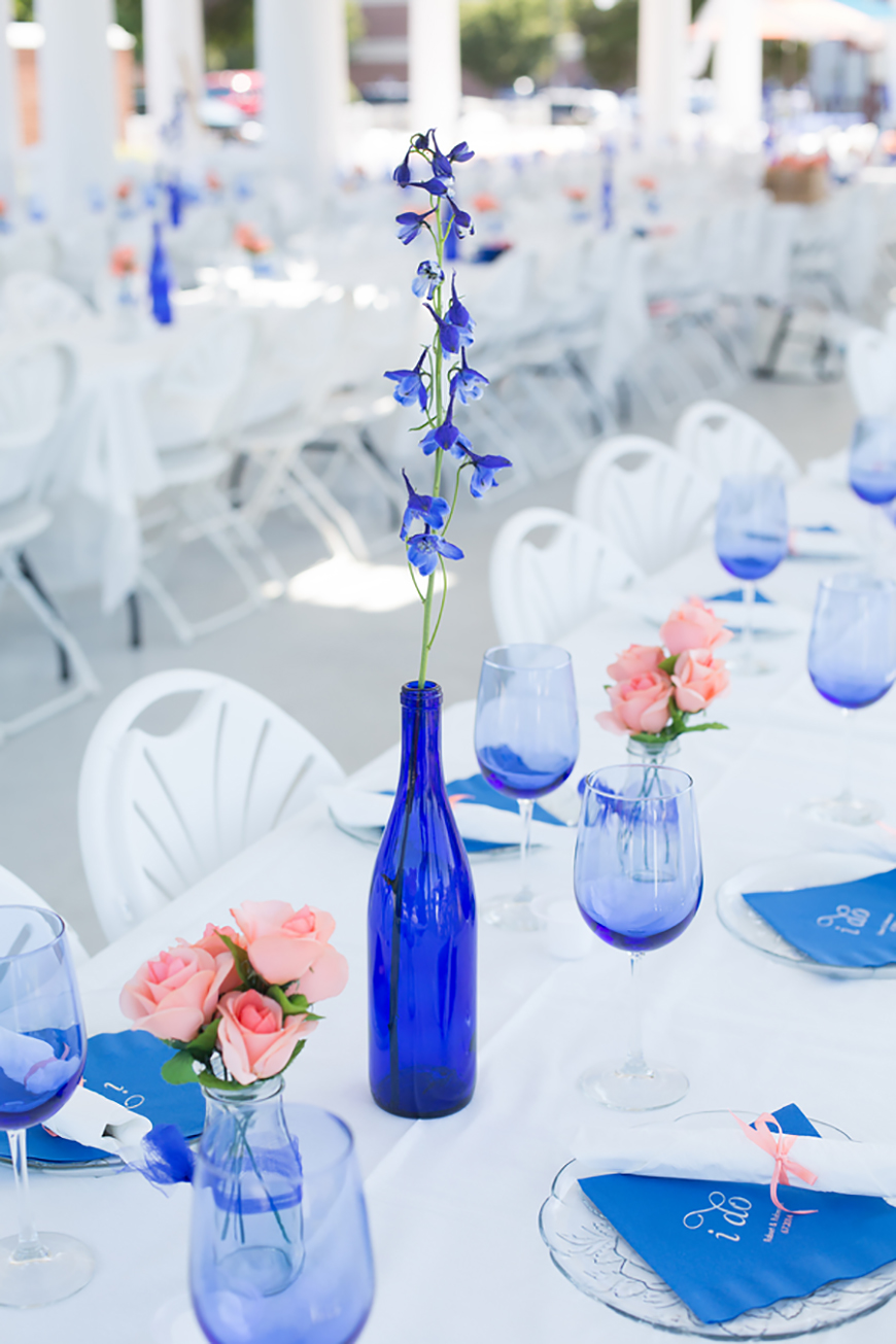 Wedding Ideas By Pantone Colour: Palace Blue | CHWV