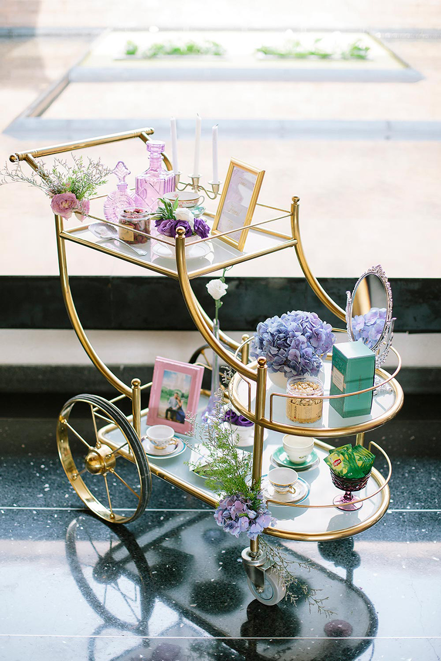Wedding Ideas By Pantone Colour: Pink Lavender - Decorations | CHWV