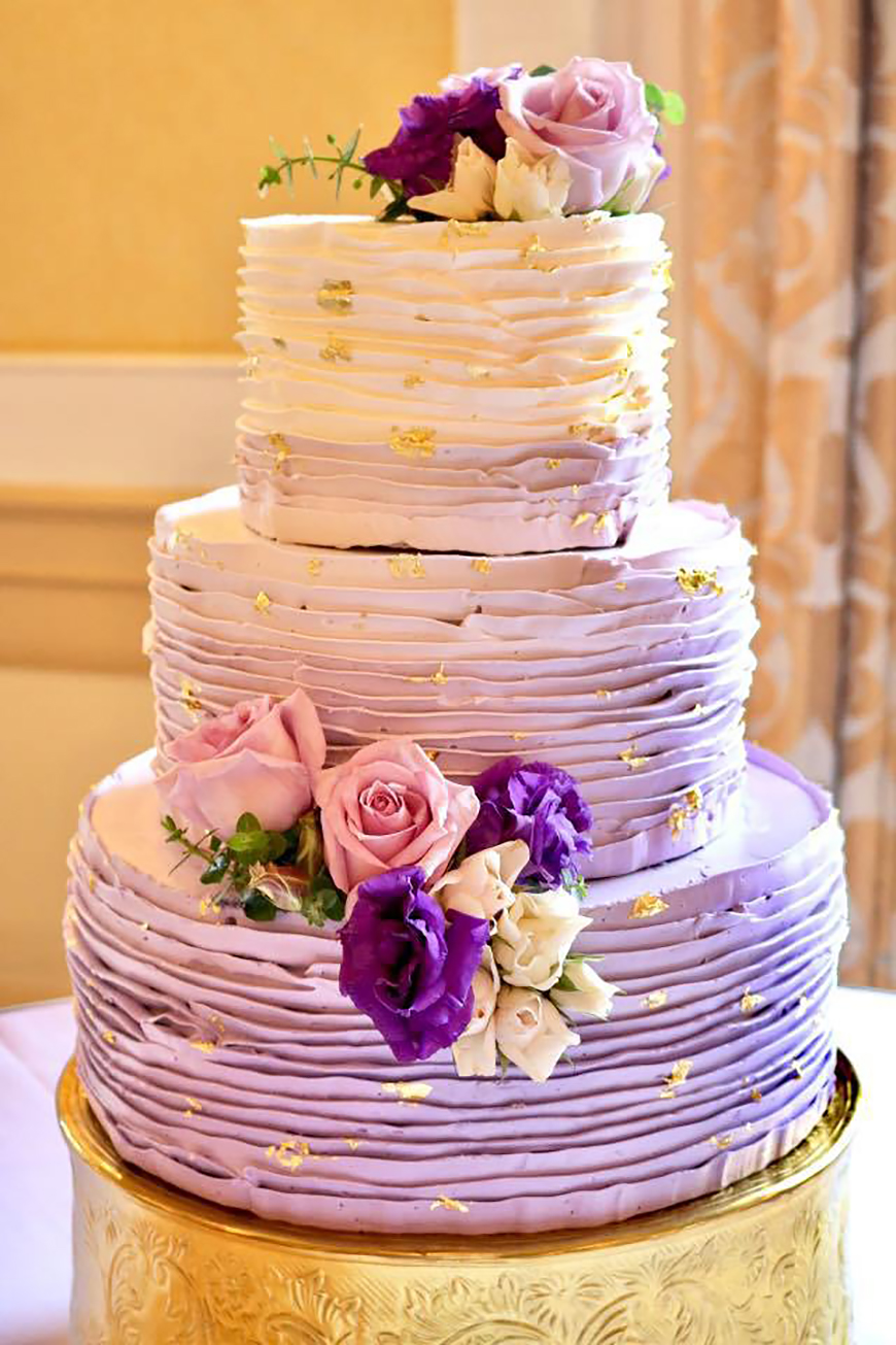 Wedding Ideas By Pantone Colour: Pink Lavender - Cake | CHWV