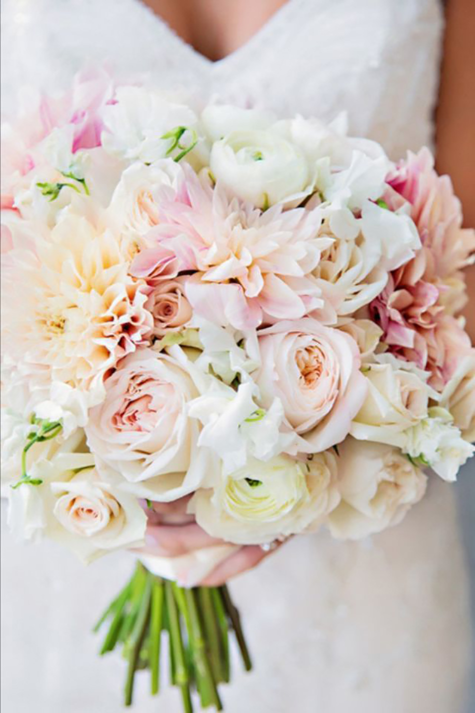 Pastel pink wedding flowers chwv wedding ideas by colour pastel pink flowers mightylinksfo