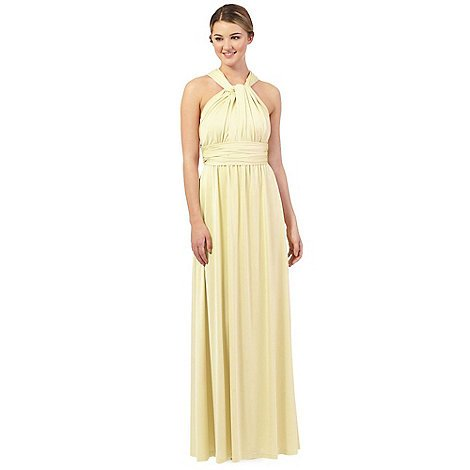 Wedding ideas by colour: pastel yellow bridesmaid dresses - Debenhams | CHWV