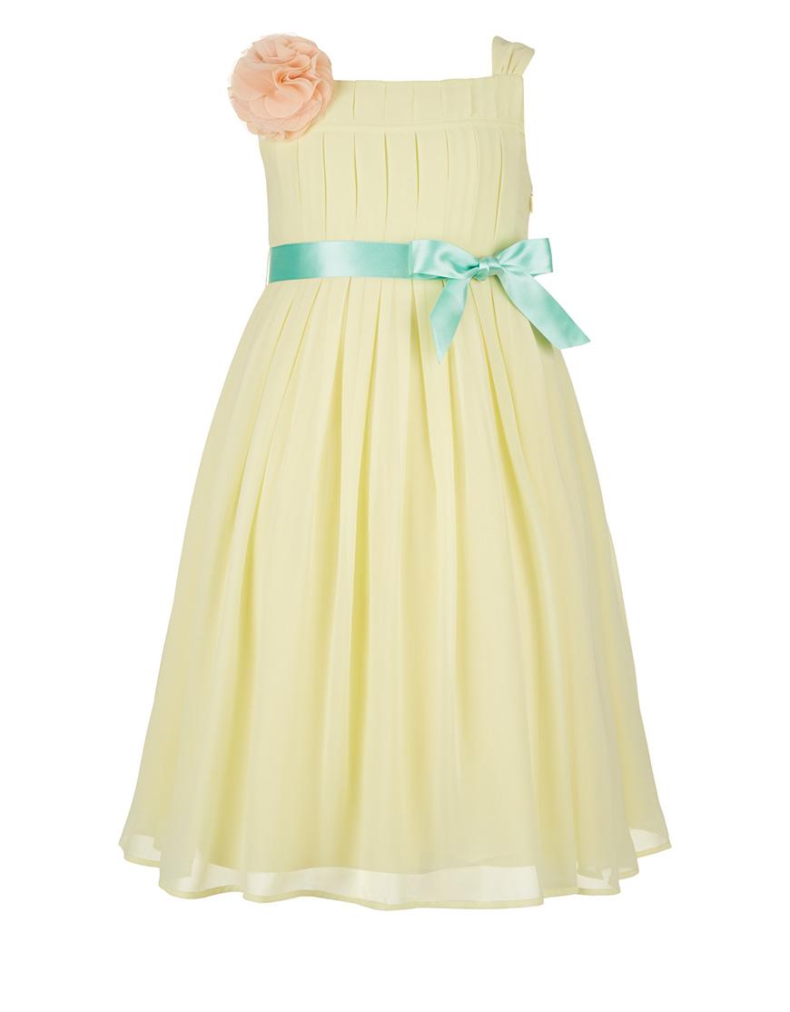 Wedding ideas by colour: pastel yellow bridesmaid dresses - Monsoon | CHWV