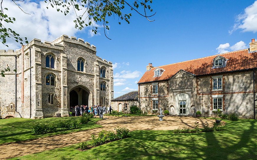 7 Quirky Wedding Venues That You Have To See - Pentney Abbey | CHWV