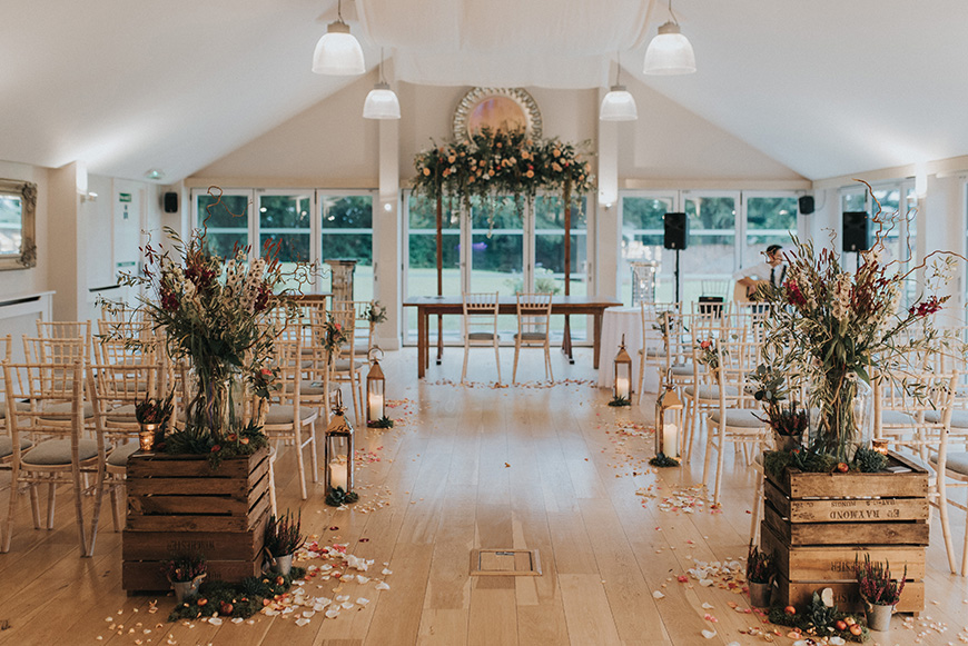 Our Venue Specialist's Perfect Wedding At Wasing Park | CHWV