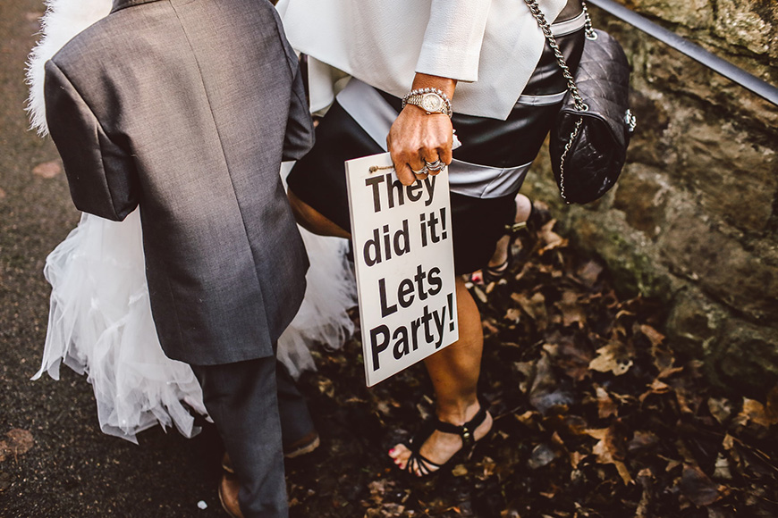 How To Personalise Your Wedding Day - Party planning | CHWV