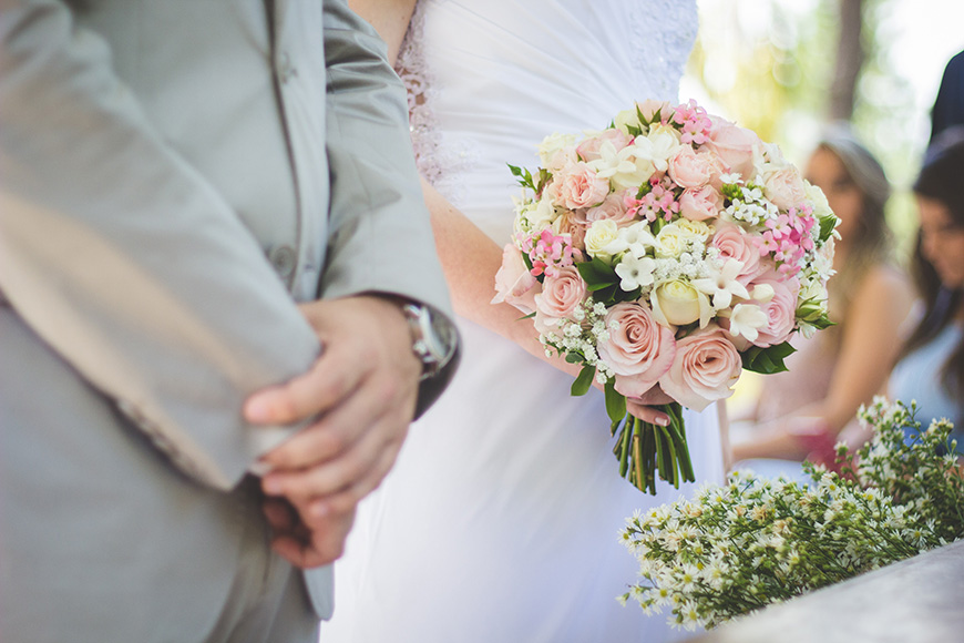 How To Personalise Your Wedding Day - Tying the knot | CHWV