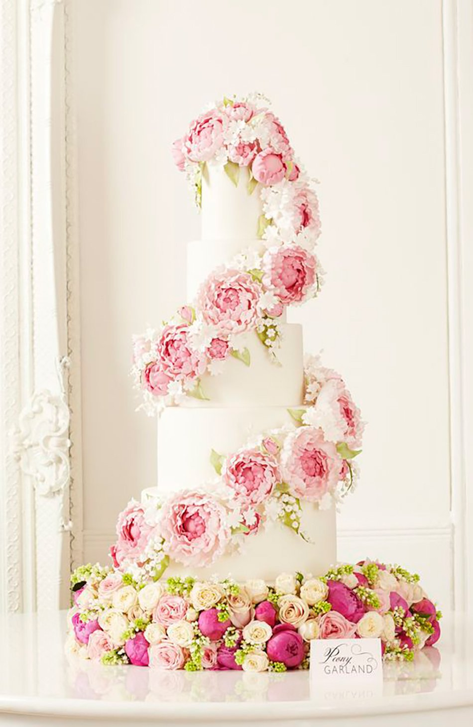 Pink Wedding Cakes Chwv
