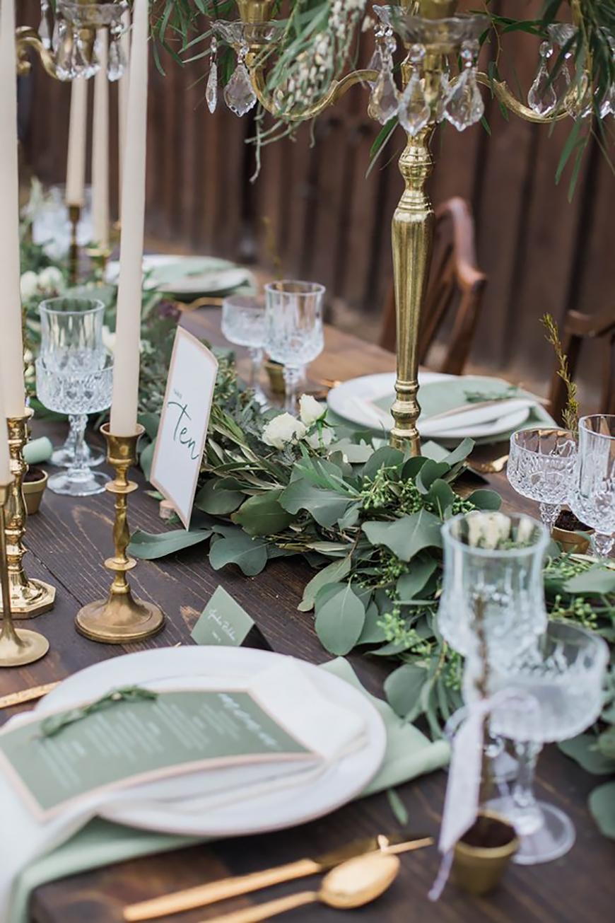 Wedding Ideas By Colour: Pistachio Green Wedding Theme - Stationery | CHWV