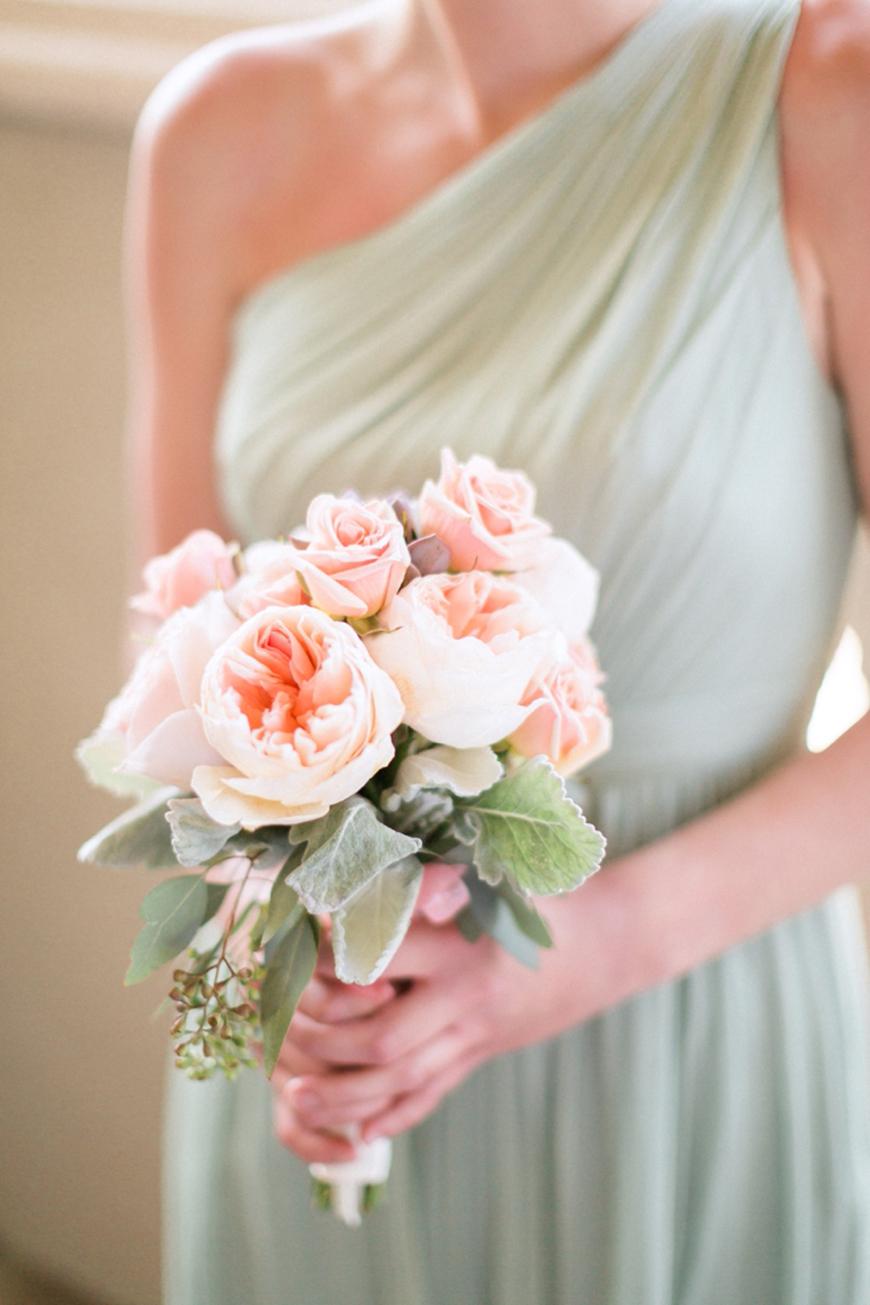 Wedding Ideas By Colour: Pistachio Green Wedding Theme - Bridal bouquet | CHWV