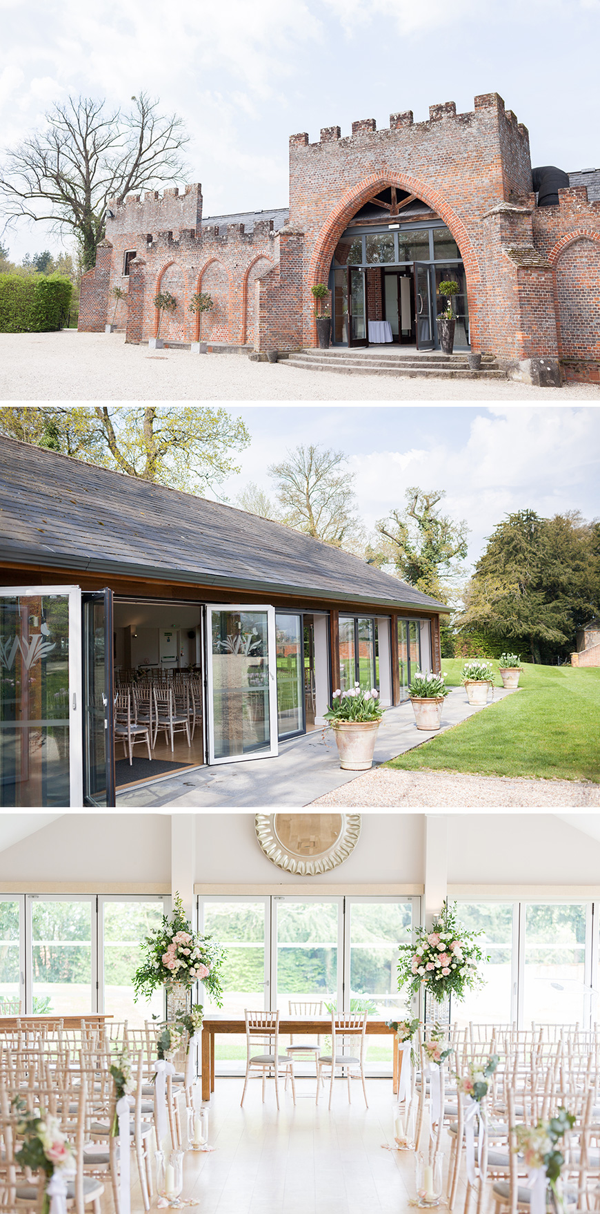 Real Wedding - Rachel and Stuart's Picturesque Spring Wedding at Wasing Park   CHWV