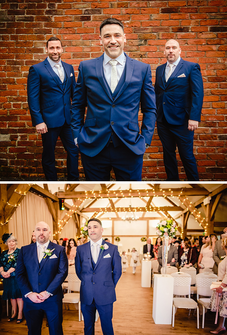 Real Wedding - Rebecca and Graeme's Elegant February Wedding at Sandhole Oak Barn | CHWV