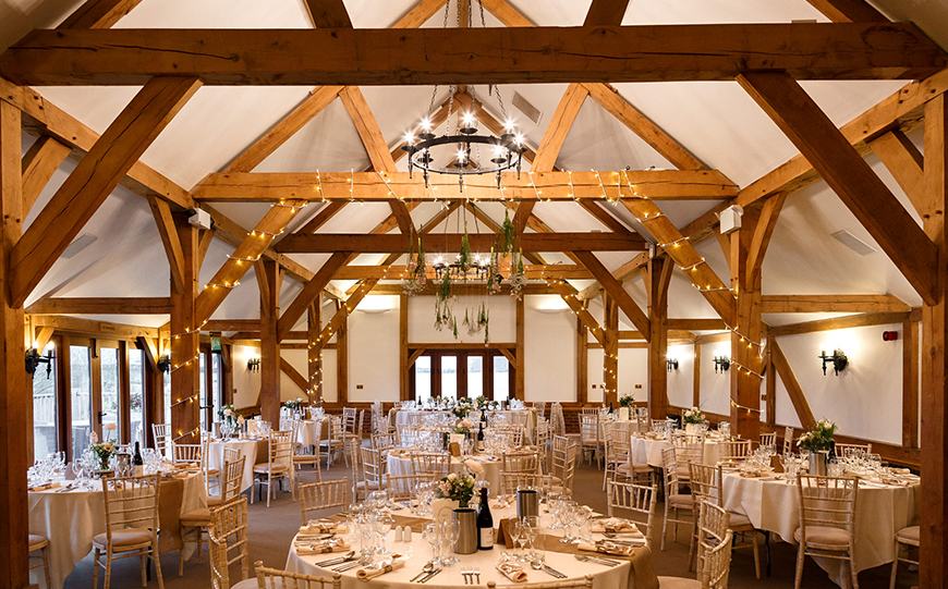 Our Venue Specialist's Perfect Wedding At Sandhole Oak Barn - The venue | CHWV