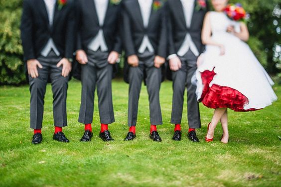 Red Wedding Dresses | Wedding Ideas | CHWV