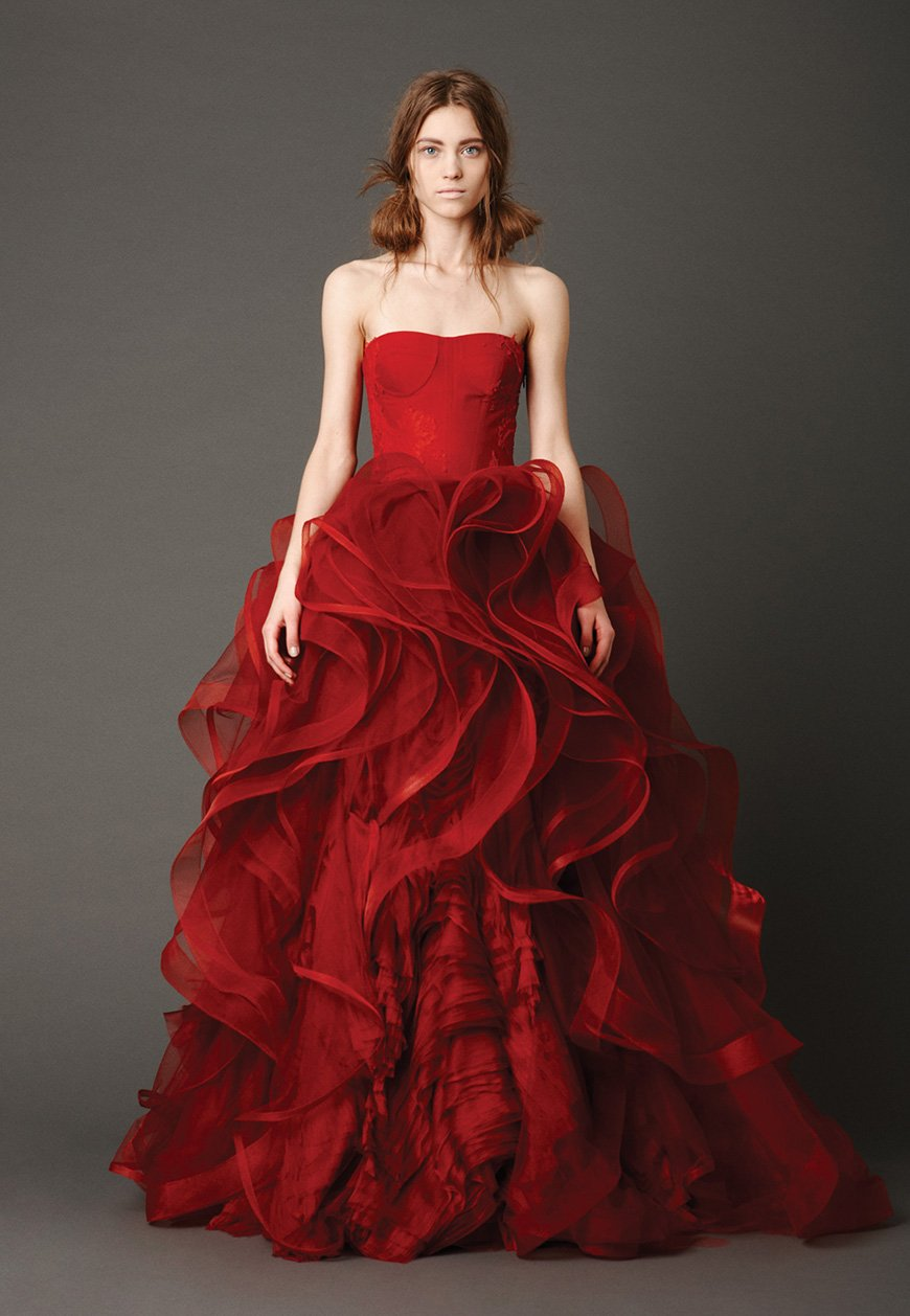 Red Wedding Dresses.Red Wedding Dresses Wedding Ideas Chwv