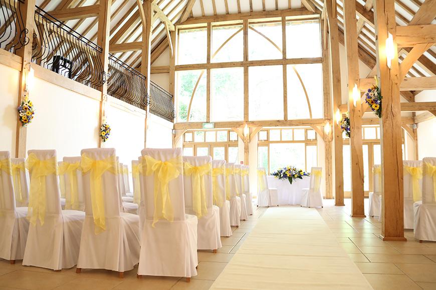 8 Magical Minimalist Wedding Venues - Rivervale Barn | CHWV